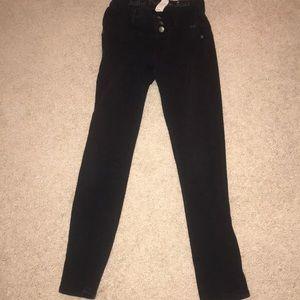 Black justice jeans